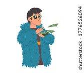 wealthy young man in... | Shutterstock .eps vector #1776526094