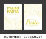 italian pasta premium quality...   Shutterstock .eps vector #1776526214