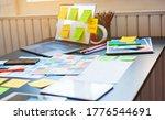 desk of ux design  ui in the...