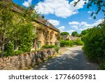 Picturesque Street View Of Old...