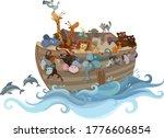 Noah S Ark  In The Sea...