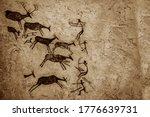 Satukunda Rock Paintings. Just...