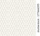 vector seamless pattern. modern ... | Shutterstock .eps vector #177666395