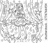 Antistress Coloring Page For...
