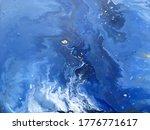 abstract blue fluid creative... | Shutterstock .eps vector #1776771617