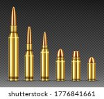 Bullets Of Different Calibers...