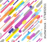 diagonal striped seamless...   Shutterstock .eps vector #1776852011