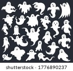 Halloween Horror Ghost. Spooky...