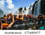 Iguaza Falls Argentina Side.