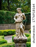 Full Sized Garden Statue Of A...