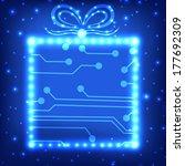 eps10 vector circuit board... | Shutterstock .eps vector #177692309