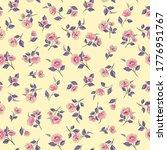 floral seamless pattern....   Shutterstock .eps vector #1776951767