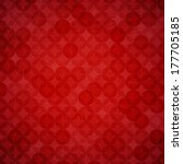 red texture background . vector ... | Shutterstock .eps vector #177705185