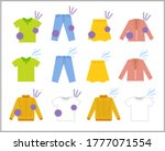 scent trouble illustration set... | Shutterstock .eps vector #1777071554
