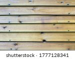 The Texture Of The Long Wooden...