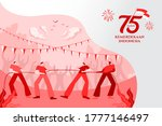 indonesia independence day... | Shutterstock .eps vector #1777146497