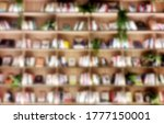 The Entire Book Wall Is Very...