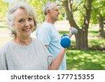 portrait of a mature couple... | Shutterstock . vector #177715355