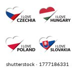 Set Of Four Czech  Hungarian ...
