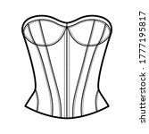 Corset Style Top Technical...