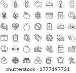 editable thin line isolated... | Shutterstock .eps vector #1777197731