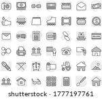 editable thin line isolated... | Shutterstock .eps vector #1777197761