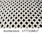 Grey Smooth Rows Of Paving...