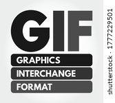 gif   graphics interchange...   Shutterstock .eps vector #1777229501