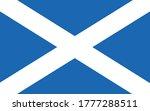 scotland flag vector graphic.... | Shutterstock .eps vector #1777288511