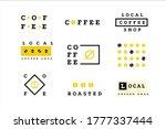Coffee Logo Set. Minimal Drink...