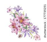beautiful flowers   Shutterstock . vector #177735251