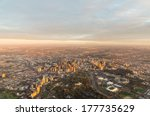 Aerial View Of Melbourne ...