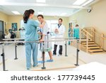 portrait of female patient...   Shutterstock . vector #177739445