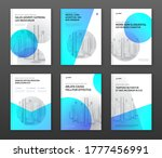 pharmaceutical brochure cover... | Shutterstock .eps vector #1777456991