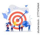 business vision concept. people ... | Shutterstock .eps vector #1777476464