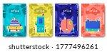 style geek brochure flyer ... | Shutterstock .eps vector #1777496261