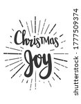 christmas joy wishes for new... | Shutterstock .eps vector #1777509374