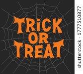 trick or treat. halloween... | Shutterstock .eps vector #1777510877