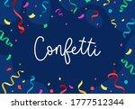 confetti festivity and... | Shutterstock .eps vector #1777512344