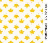 seamless pattern with herbal... | Shutterstock .eps vector #1777541531