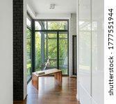 Modern Home Corridor With...
