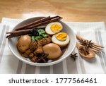 Homemade Food  Stewed Pork And...