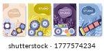 equipment of the photographer... | Shutterstock .eps vector #1777574234