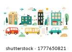 cartoon city illustration....   Shutterstock .eps vector #1777650821