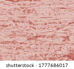 Woven Lacy Textile  Artistic...