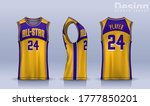 basketball tank top design... | Shutterstock .eps vector #1777850201