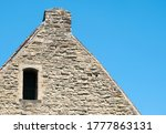 Small Window In A Stone Cottage