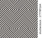 abstract ornate interlaced... | Shutterstock . vector #177789164