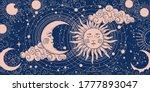 magic banner for astrology ... | Shutterstock .eps vector #1777893047