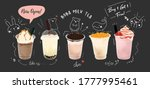 bubble milk tea special...   Shutterstock .eps vector #1777995461